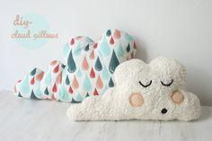 It's simply Max: DIY clouds cushion