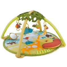 Turn floor play time into a safari adventure with the Skip Hop Giraffe Safari Activity Gym. This piece of baby gear is super adorable and will be a great match Baby Gym, Baby Play, Infant Play, Baby Activity Gym, Activity Mat, Activity Centers, Friend Activities, Infant Activities, Fun Activities