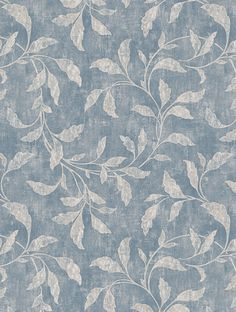 Rosewood Night Wallpaper - Blue & Beige - By Boråstapeter - 1904 Watercolor Wallpaper, Home Wallpaper, Fabric Wallpaper, Flower Wallpaper, Pattern Wallpaper, Luxury Wallpaper, Feature Wallpaper, Aesthetic Painting, Fashion Wallpaper