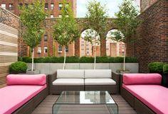 outdoor seating areas and roof top garden design ideas Diy Pergola, Pergola Shade, Pergola Kits, Corner Pergola, Pergola Ideas, Patio Ideas, Outdoor Seating Areas, Outdoor Spaces, Outdoor Living