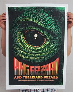GigPosters.com - King Gizzard & The Lizard Wizard