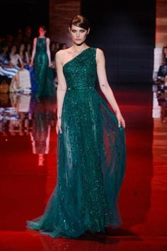 Elie Saab haute couture gowns fall 2013