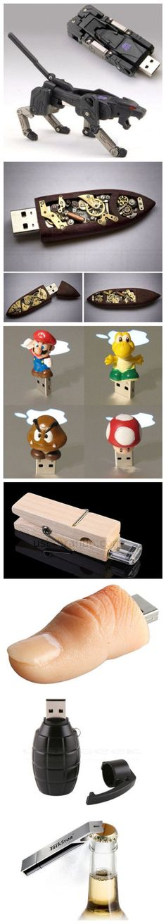Top 10 of USB flash device designs