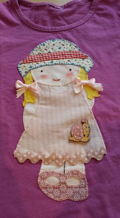 Sweet handmade things - patchwork: Samarreta patchwork nena galtones / Camiseta Patch...