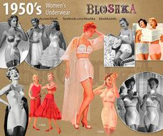 Brief history of fashion in pictures. Vintage Fashion 1950s, Mode Vintage, Retro Fashion, 1950s Fashion Women, Fifties Fashion, Decades Fashion, Fashion Through The Decades, Vintage Dresses, Vintage Outfits