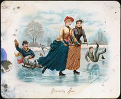 (Merry Christmas) Glædelig Jul, 1888 by National Library of Norway, via Flickr