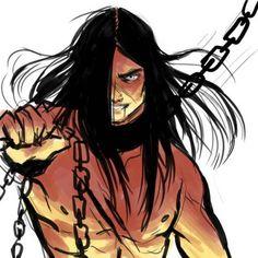 Razvan remembering his dark days in captivity by Xavier Fireboy And Watergirl, Metalocalypse, Morgoth, Tolkien Books, Fantasy Heroes, Dark Elf, Dark Lord, Legolas, Middle Earth