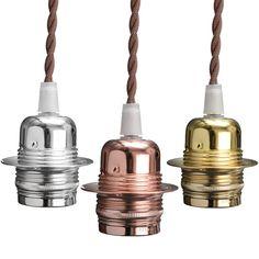 E27/E26 1M Edison Vintage Retro Light Holder Lamp Socket Bulb Kit AC 110-240V