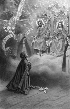 Vision of St. Veronica Guiliani