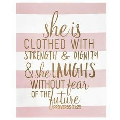 Love the rose gold background paired with this Great Bible verse