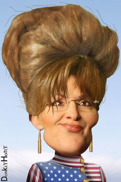 """If I were in charge,"" Palin said Saturday during a Stand And Fight rally at Lucas Oil Stadium, ""[our enemies] would know that waterboarding is how we'd baptize terrorists."" Souless numb skull."
