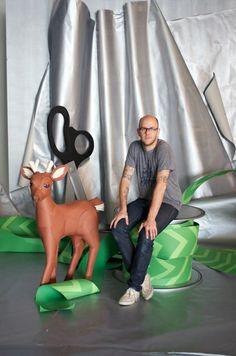 Paper Sculpture Artist - Andy Byers