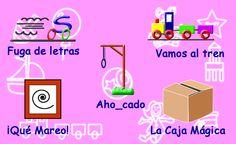 Juegos de Letras Free Fun, Ideas Para, App, Teaching, Stickers, Games, School, Google, Speech Pathology