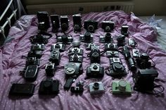 #camera oh how i WISH this was my collection