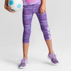 fac0ff9f2872 Champion Girls  Lattice Capri Leggings Yoga Capris