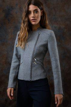 Our latest collection of Donegal tweed pieces have arrived! We've given our favourite heritage fabric an updated edge to take you through from morning meetings to dinner and drinks.