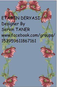 Etamin seccade şablonları Prayer Rug, Needlework, Prayers, Map, Crafts, Design, Roses, Punto De Cruz, Creativity