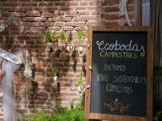 Bodas eco/ Eco wedding: