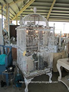Vintage bird cage ideas birdhouses 37 Ideas for 2019 Antique Bird Cages, The Caged Bird Sings, Vintage Birds, Vintage Birdcage, Bird Aviary, Bird Drawings, Bird Prints, Beautiful Birds, Bird Houses