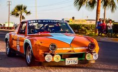 Racing Through Mexico In A Porsche 914 GT