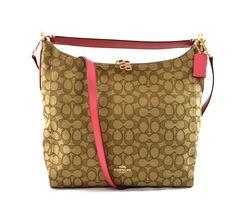 Coach Outline Signature Celeste Hobo Shoulder Crossbody Bag Purse Handbag >>> Check this awesome image  : Shoulder Handbags