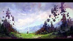 postapokaliptika world for only one wizard. Created by Bilous Bohdan