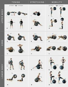 Full body workout for you at home