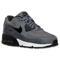 <p>The Nike Air Max 90 Women's Running Shoes are iconic in their looks but don't stop there. The leather upper shows off the premium details of the streamlined silhouette. Mesh inserts on the toe box and ankle increase the breathability so your feet stay cool and comfortable. The thick, cushy midsole relaxes your feet while the heel Air-Sole unit adds even more cushioning without weighing down the women's running shoes.</p><p>FEATURES:</p><ul><li>UPPER: Mesh</li><li>MIDSOLE: Nike ...
