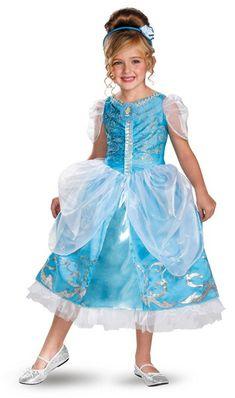 Cinderella Sparkle Deluxe Halloween Costume