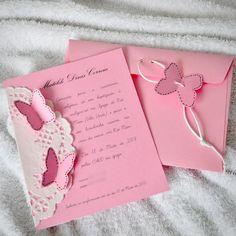 Convite borboleta