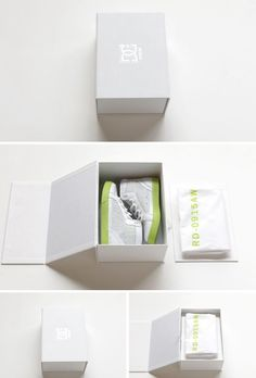Classy shoe box