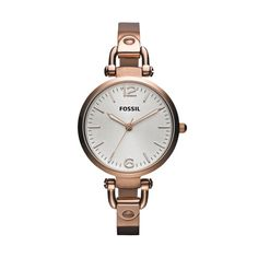 Fossil Georgia Watch - Rose Gold