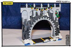 Winter Village - The Tunnel 01 by Priovit70 on Flickr