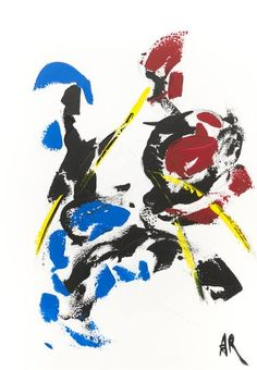 Original Abstract Painting by Alexis Reynaud Abstract Expressionism, Abstract Art, Original Art, Original Paintings, Musashi, Buy Art, Ninja Red, Samurai, Saatchi Art