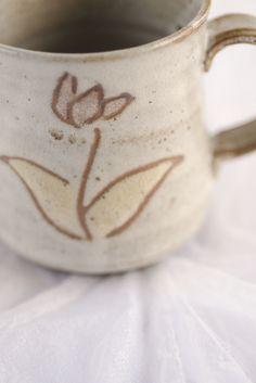 カタクリのマグカップ