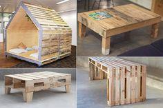 Идеи мебельного декора. Мебель из палет