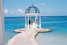 Where we got married-Sandals Montego Bay Jamaica: Wedding Gazebo Sandals Montego Bay Jamaica, Jamaica Resorts, Destination Wedding Jamaica, Wedding Destinations, Wedding Places, Wedding Venues, Wedding Gazebo, Wedding Ideas, Wedding Locations