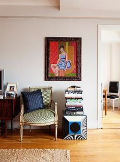 michael haney and brooke cundiff at home in new york city via the selby