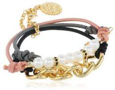 Jessica Simpson Arm Party Peach Bracelet Set