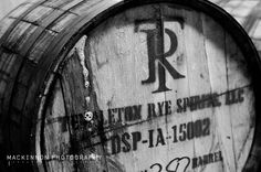 Templeton Rye barrel filled with Denver Off the Wagon's 1st birthday Wynkoop Caraway Rye Dry Stout. Photo by @Sean Buchan