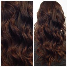 « Warm, rich chocolate by @hairbycattaneo. #modernsalon #softwaves #brunette »                                                                                                                                                                                 More
