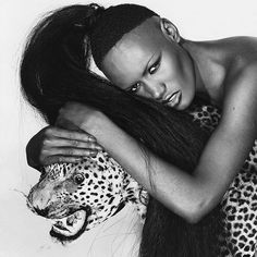 There's no one quite like @gracejonesofficial. Click the link in our bio to see a round-up of the singer's incomparable style. Photographed by Chris von Wangenheim Vogue January 1978. by voguemagazine