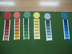 (Box Three with Extensions) (how we montessori) Montessori Color, Montessori Education, Color Box, Primary Colors, Kids Room, Diy Crafts, Activities, Extensions, Shelf
