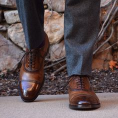 Another sneak preview of one of our new calfskin shoes. THE FIRENZE is made in Italy, Blake-rapid welted, and the patina is unique to each pair and produced by hand. Launching very...