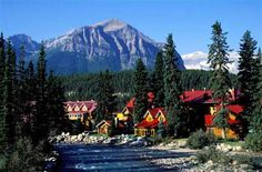 Post Hotel, Lake Louise, Alberta.  A fantastic mountain lodge with a world famous wine cellar and fantastic meals.