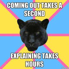 Pansexual panther!