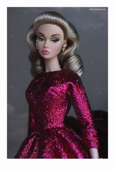 Barbie Fashion Royalty, Fashion Dolls, Vintage Barbie Clothes, Doll Clothes, Celebrity Barbie Dolls, That Poppy, Disney Princess Drawings, Glamour Dolls, Poppy Parker