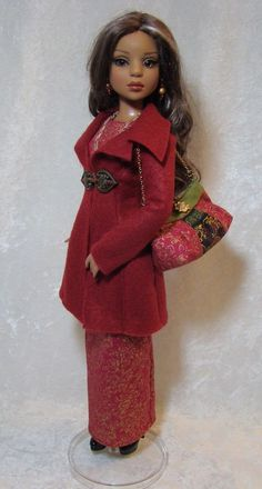 "~Christmas Ensemble Collection~ for 16"" Ellowyne Wilde, Lizette etc, by jerpego via eBay ends Wed 11/25/15 BIN $55.00"