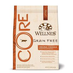 Wellness Core Grain Free Original Cat Food 5.5lb ** You can find out more details at the link of the image. (This is an affiliate link and I receive a commission for the sales)