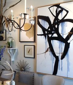 Spring 2016 HPFM Trends - Gallery wall inspiration at High Point Spring Market